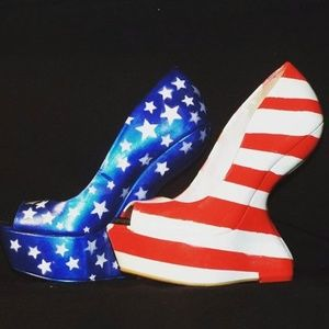 Shoes - USA Wedge